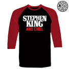Stephen King & Chill - Men's (Unisex) Baseball Tee