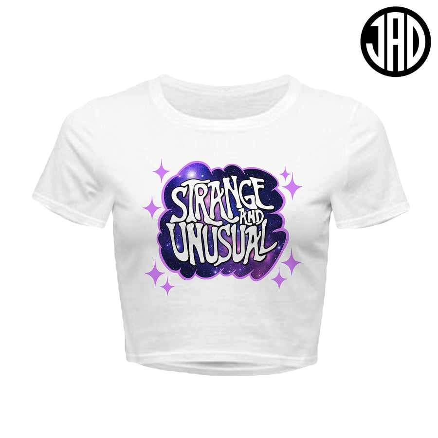 Strange & Unusual - Women's Crop Top