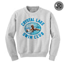 Crystal Lake Swim Club - Crewneck Sweater