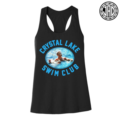 Crystal Lake Swim Club - Women's Racerback Tank
