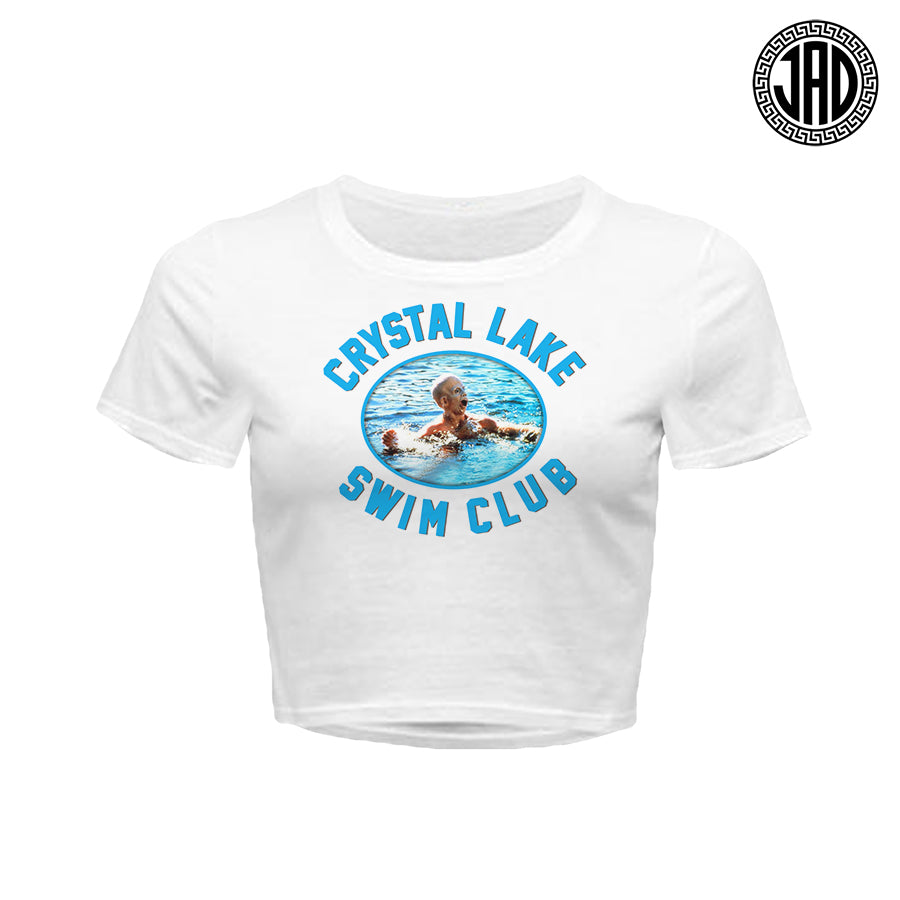 Crystal Lake Swim Club - Women's Crop Top