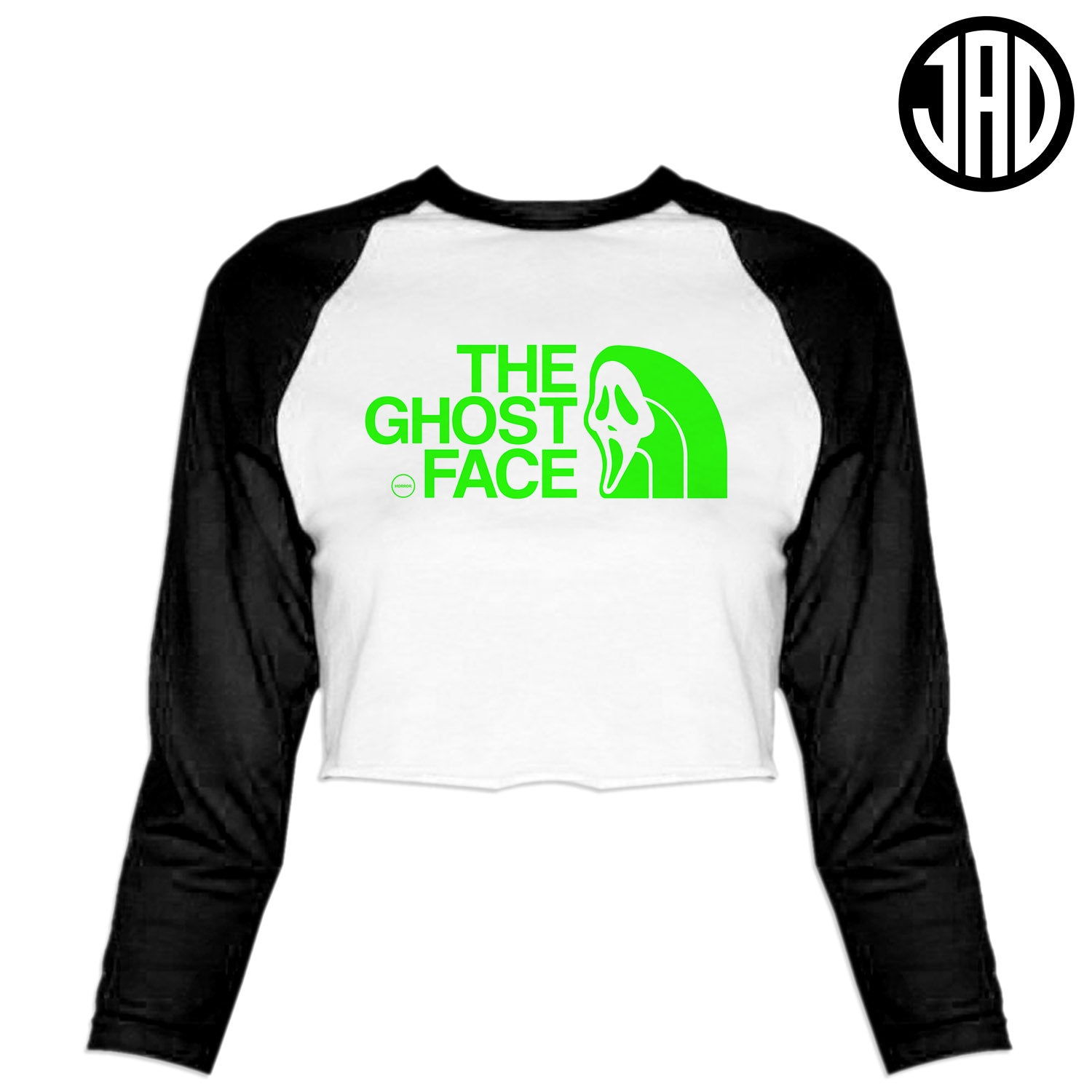TGF Stab - Women's Cropped Baseball Tee