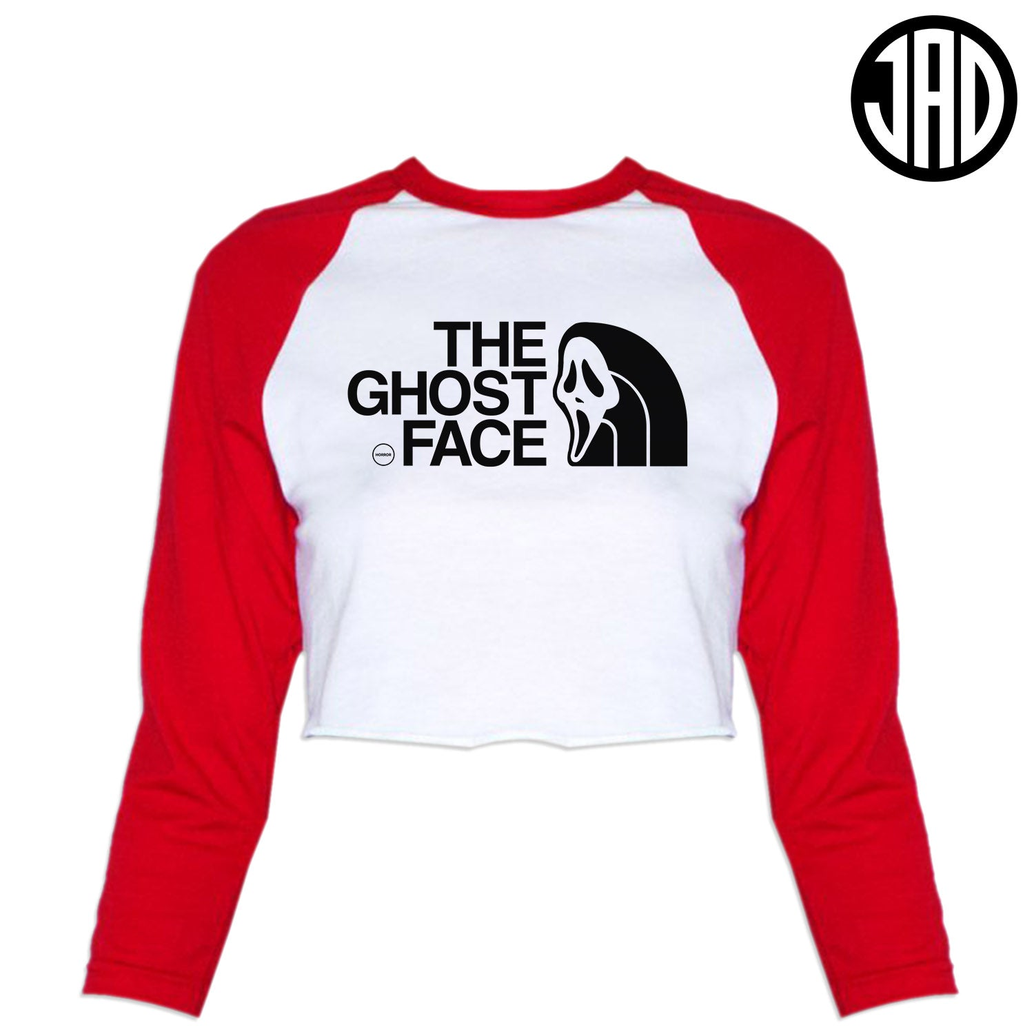 TGF - Women's Cropped Baseball Tee