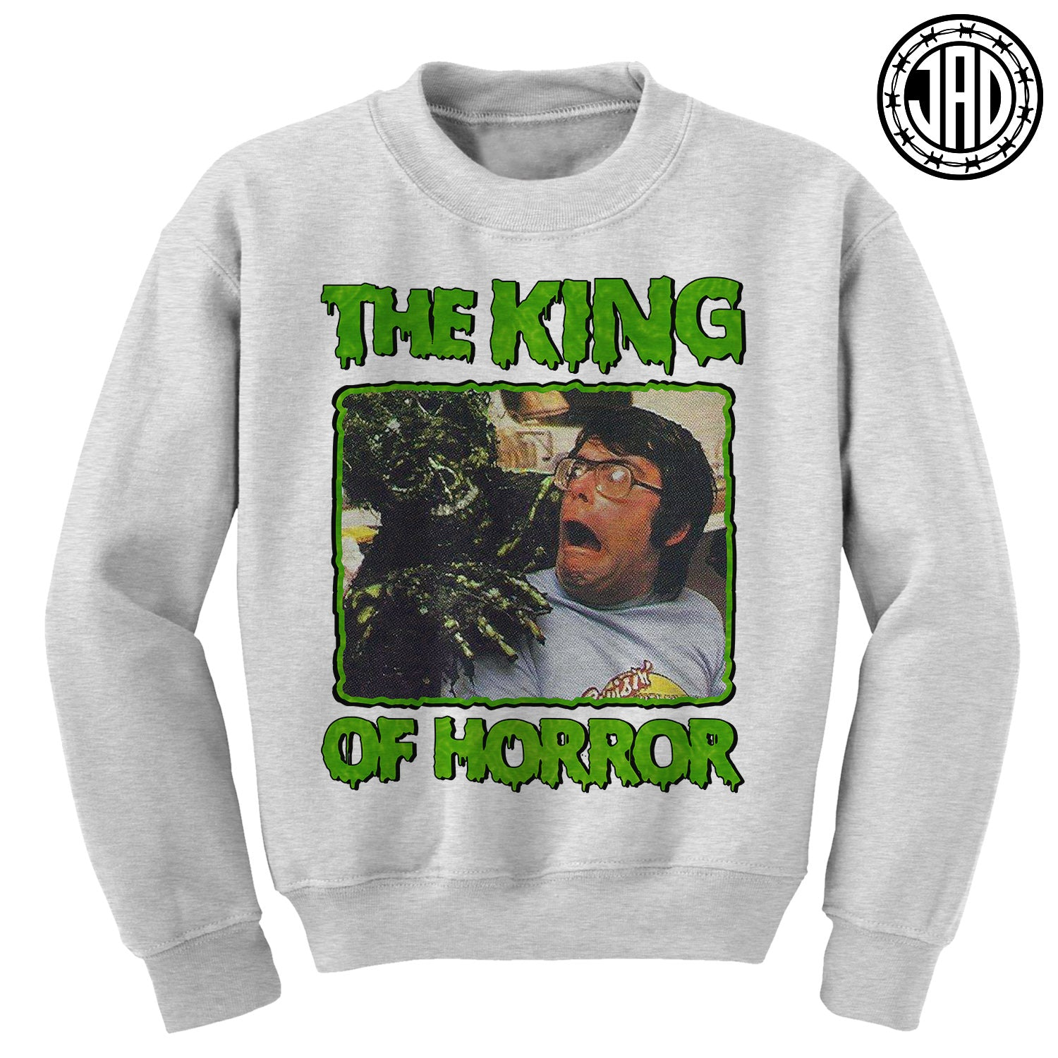 The King - Mens (Unisex) Crewneck Sweater