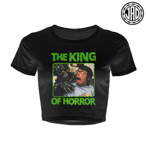 The King - Women's Crop Top