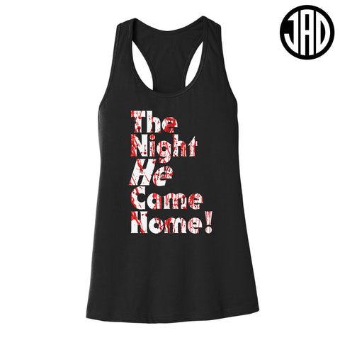 The Night - Women's Racerback Tank
