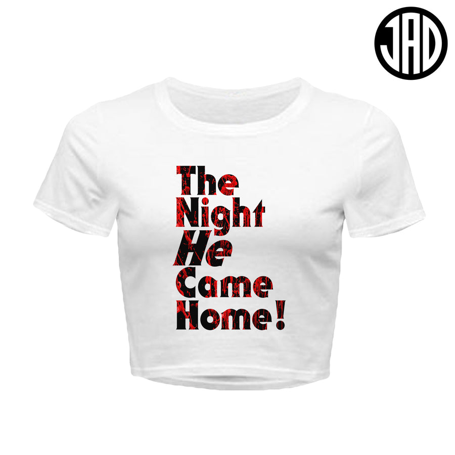 The Night - Women's Crop Top
