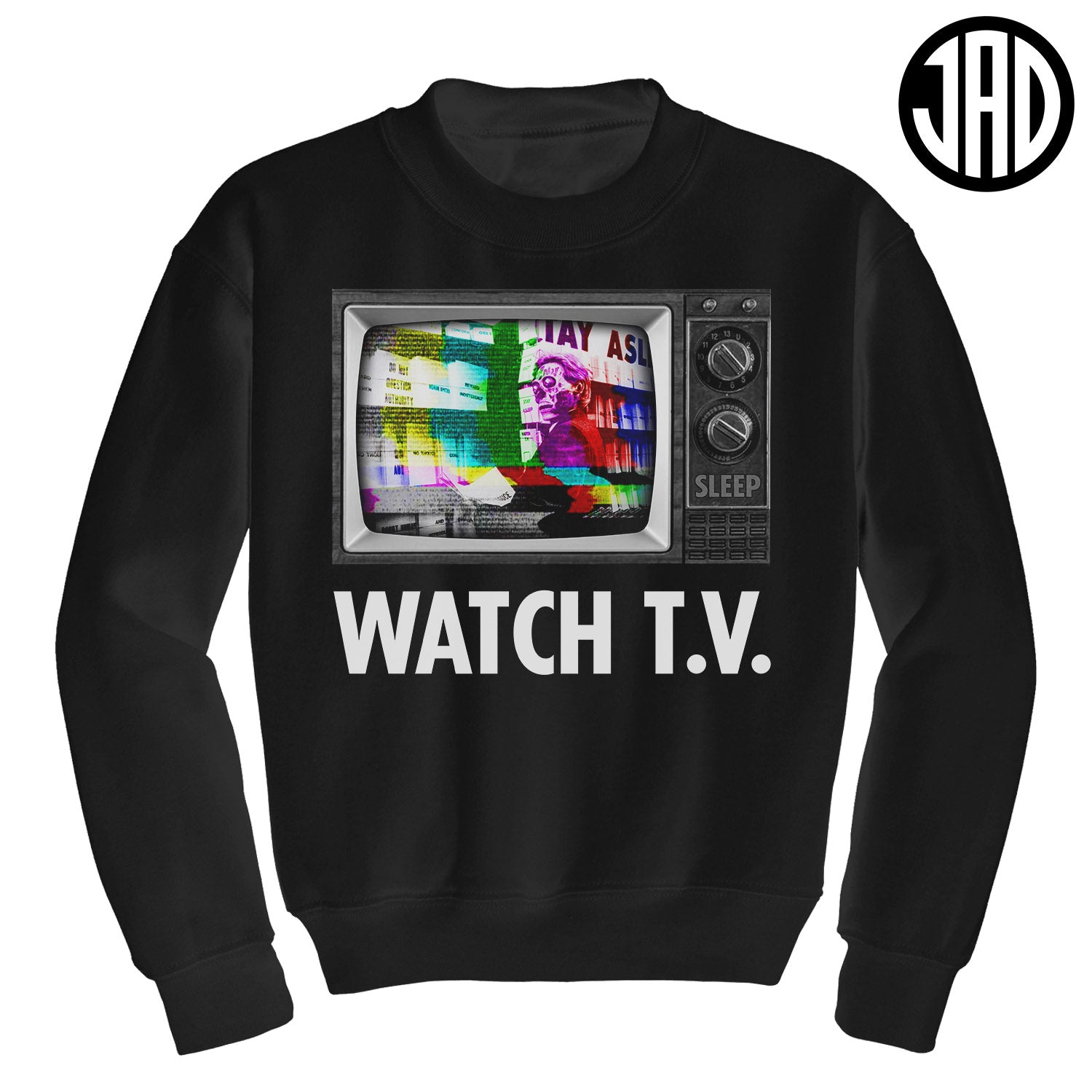 Watch TV - Crewneck Sweater