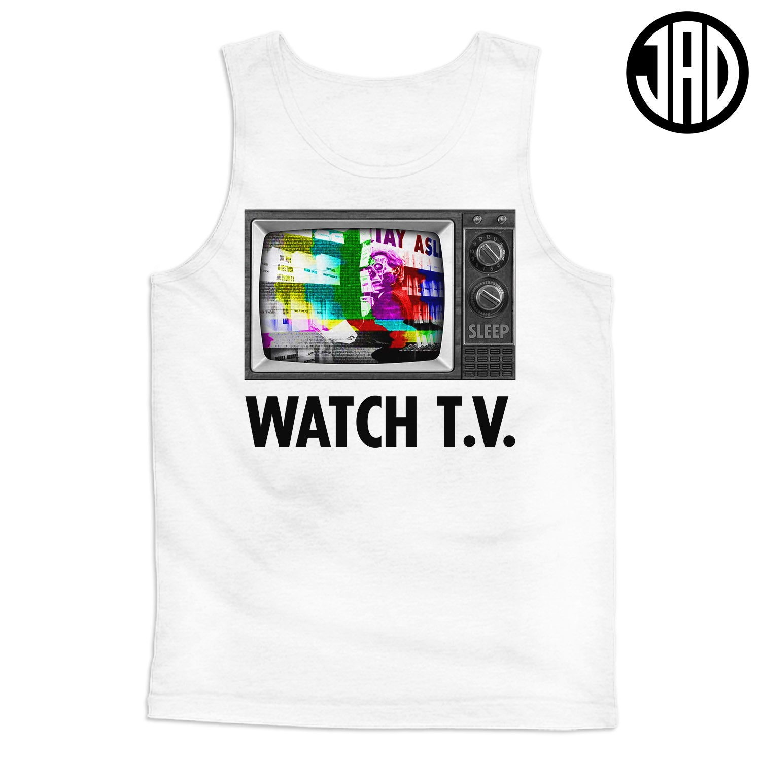 Watch TV - Men's (Unisex) Tank