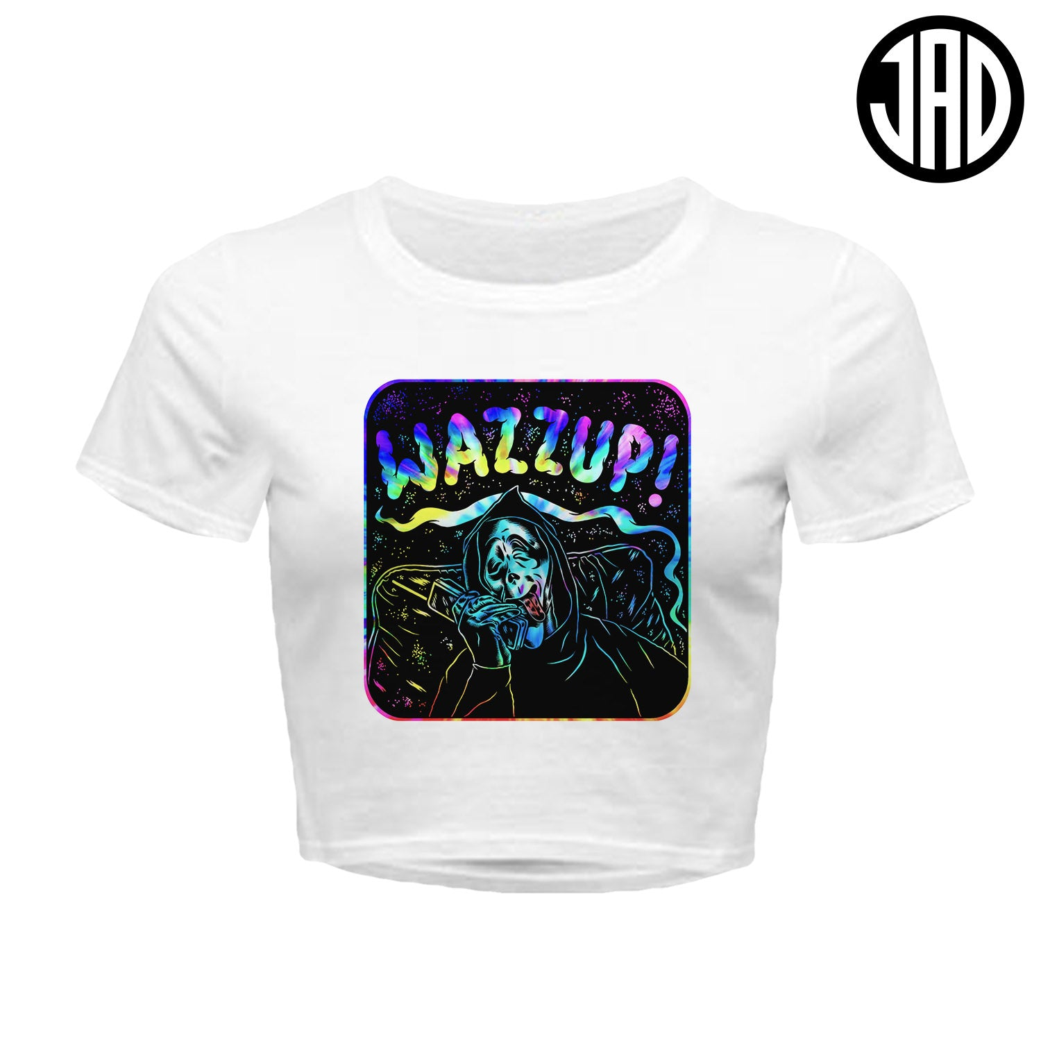 Wazzup Tie Dye - Women's Crop Top