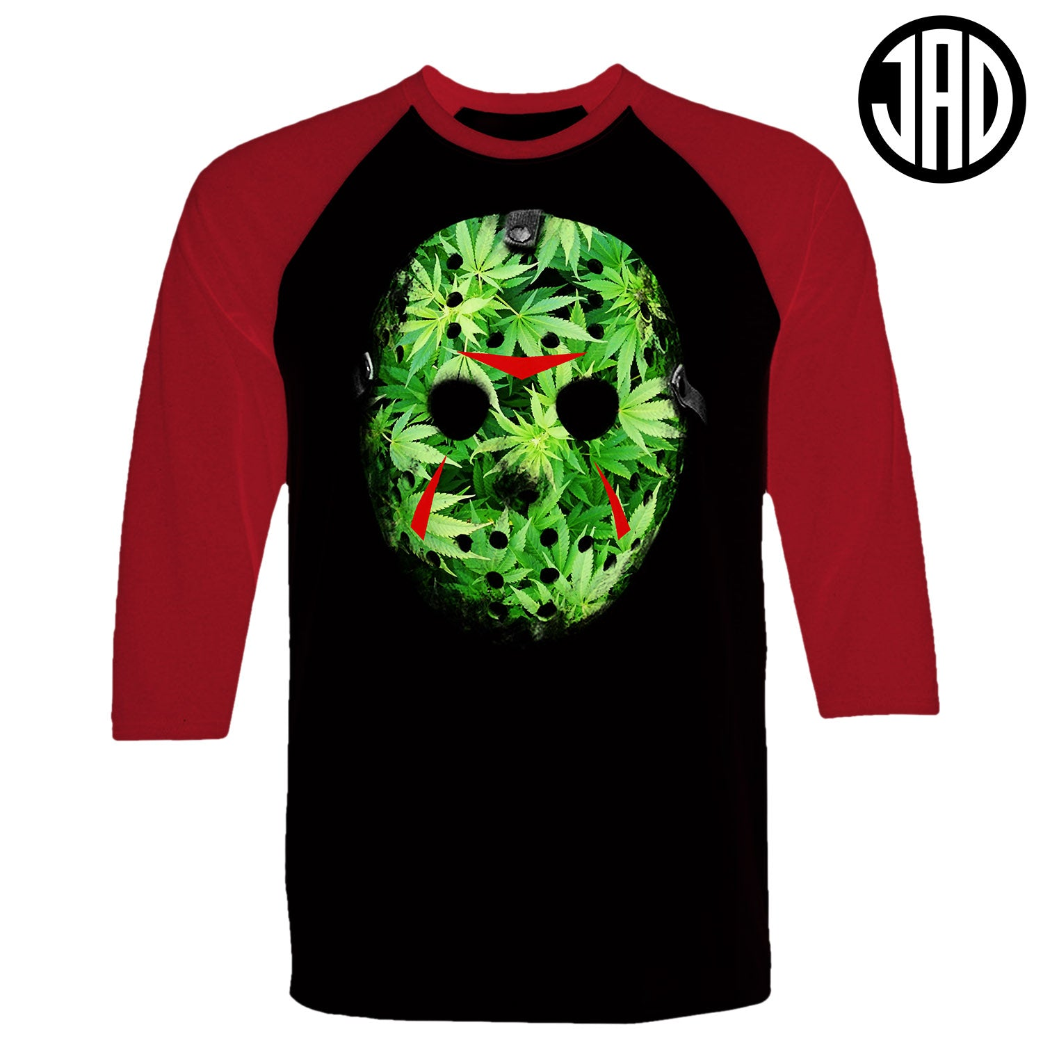 Weed Mask - Men's Baseball Tee