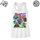 Weekend Warrior Tour 1987 - Women's Racerback Tank