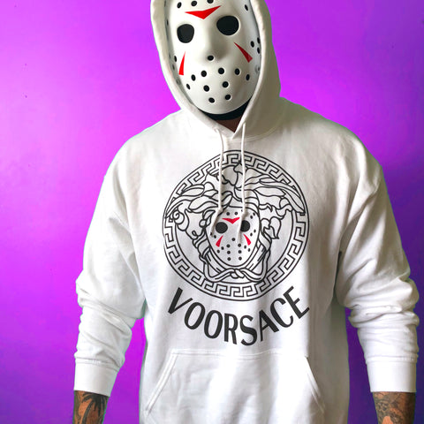 Limited Edition White VOORSACE - Mens (Unisex) Hoodie