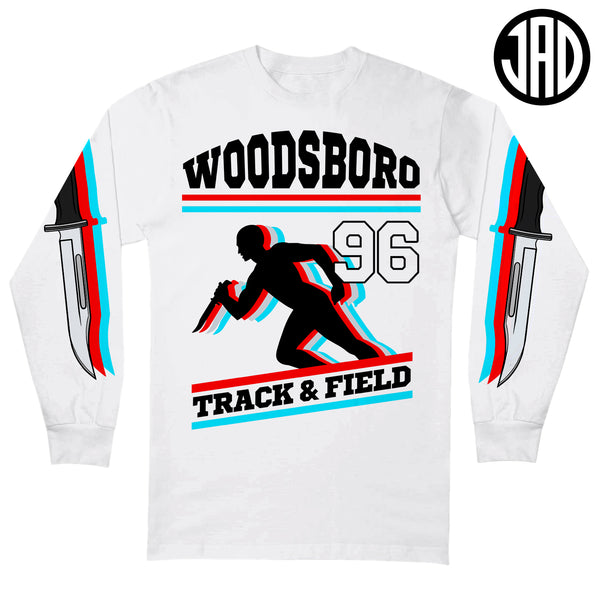 Woodsboro Track & Field - Men's (Unisex) Long Sleeve Tee