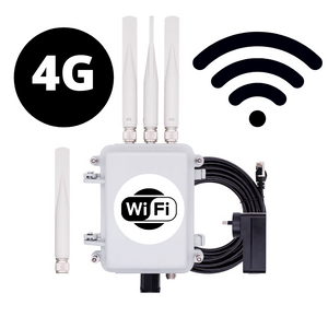 Outdoor 4G to WiFi Hotspot