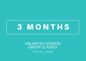 3 month Unlimited (Group Yoga-Fitness-Dance)