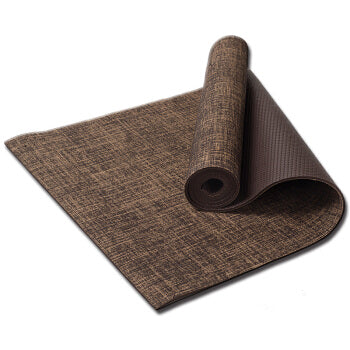 TPE Natural Flax Yoga Mat