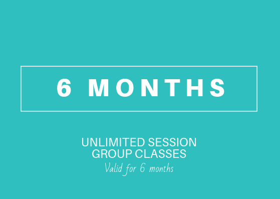 6 month Unlimited (Group Yoga-Fitness-Dance)