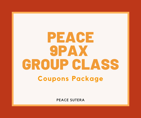 Peace 9Pax Group Class ( In Studio & Studio Virtual )