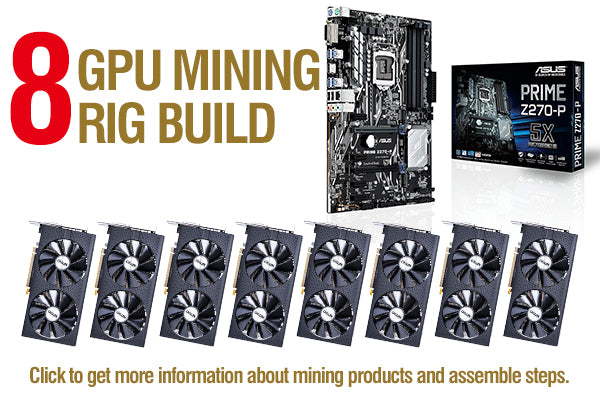 How to Build a 8 GPU Mining Rig?