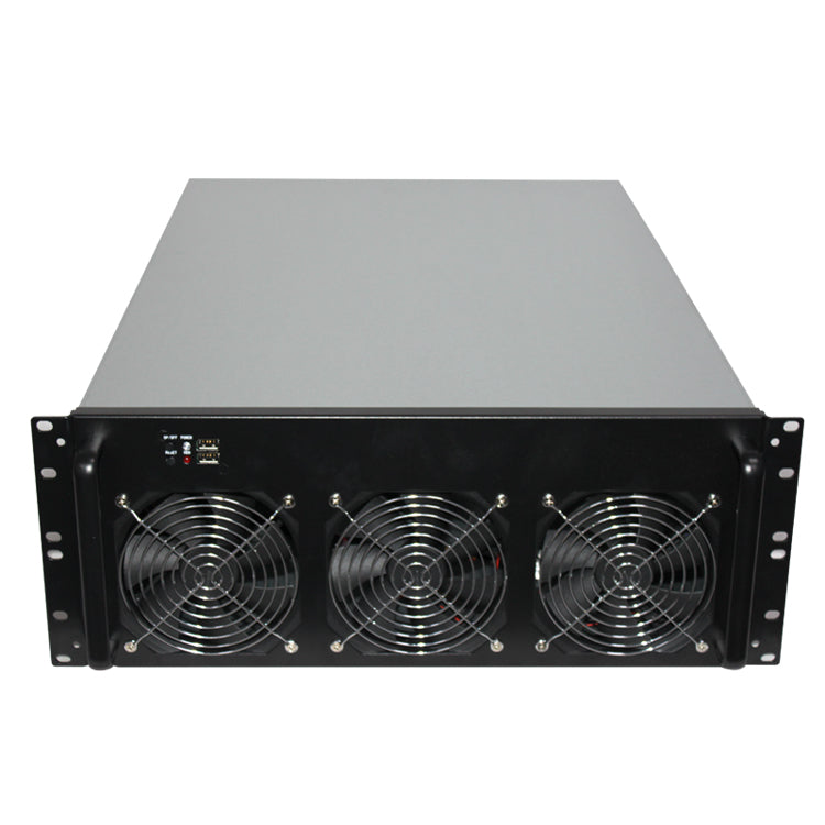 Mining Case for 6-GPU DIY Mining Rig