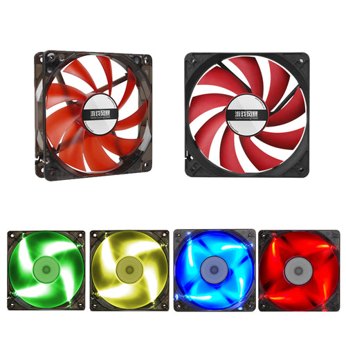1000RPM Sama cooling fan 12cm with led for GPU miner frame