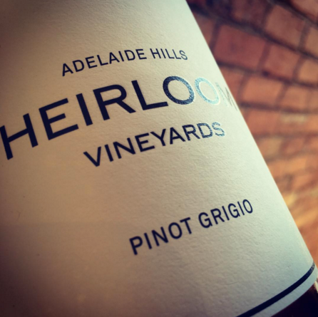 Heirloom Vineyards Adelaide Hills Pinot Grigio