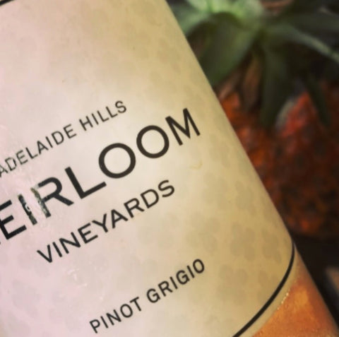 Heirloom Vineyards Adelaide Hills Pinot Grigio won Double Gold at the 2018 China Wine and Spirits Best Vale Awards.