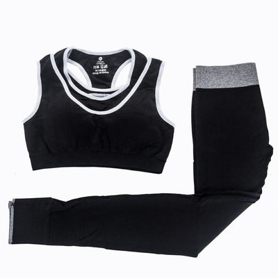 Womens Yoga Bra and Pants Set Grovit
