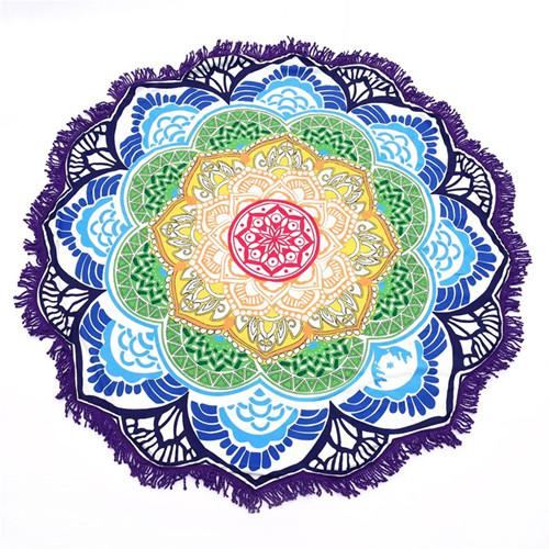 Round Cotton Yoga Mat