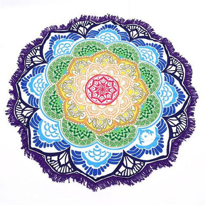 Round Cotton Yoga Mat Grovit