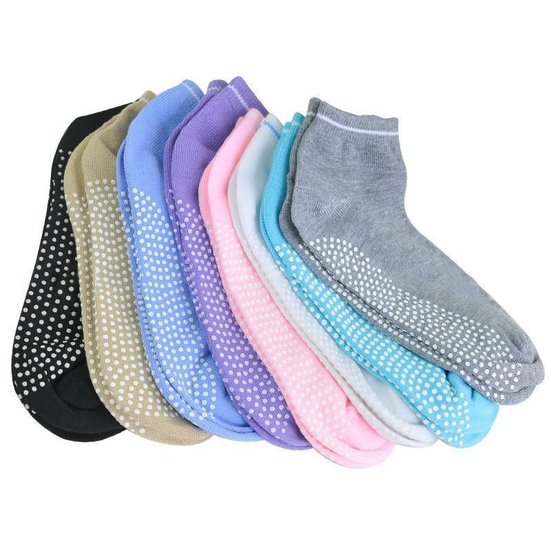 Anti Slip Womens Yoga Socks