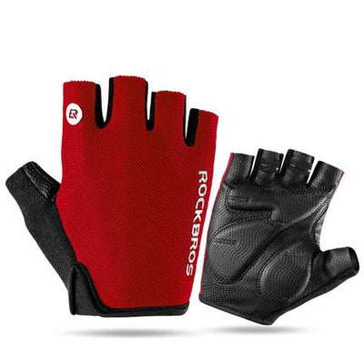 Half Finger Shockproof Sport Gloves - Grovit