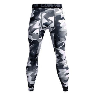 Men's Camouflage Compression Pants Grovit