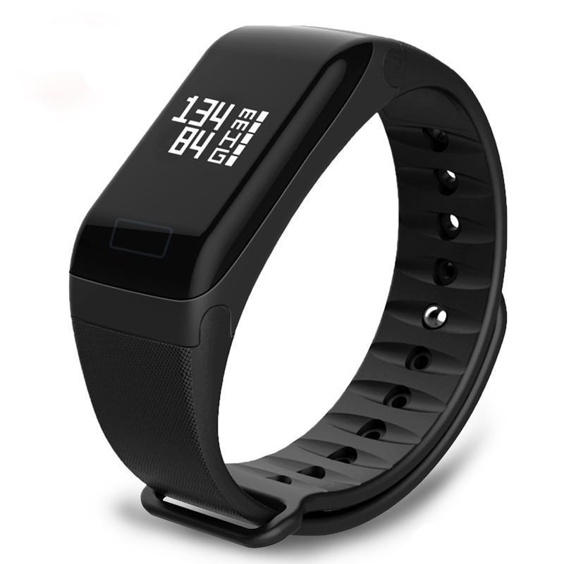 F1 Waterproof Fitness Tracker Watch