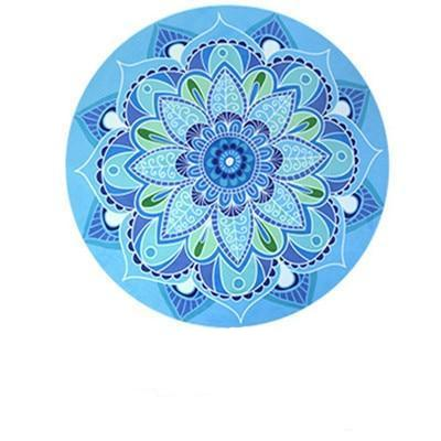 Round Meditation Yoga Mat