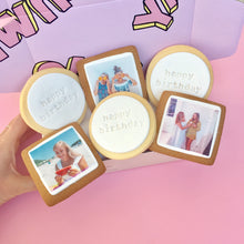 Photo + Text Cookie Gift Box