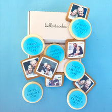 Fathers Day Photo Cookie Gift Box