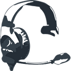 Head Coach Tees Logo Headset