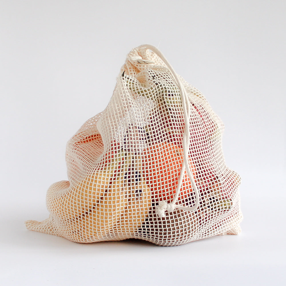 Organic Cotton Mesh Bag<br> Large