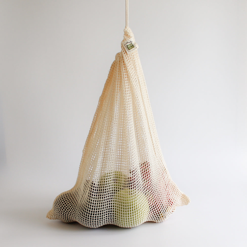 Organic Cotton Mesh Bag <br> Medium