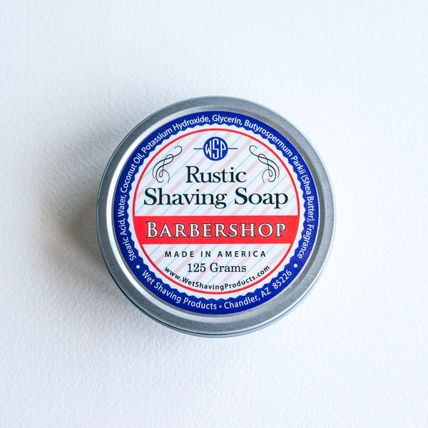 Vegan Shaving Soap<br> in Metal Tin