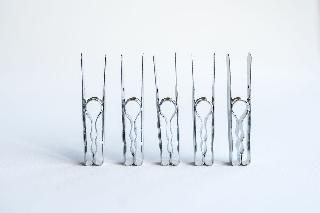 Stainless Steel Pegs<br> Set of 5, 20 or 40 pcs