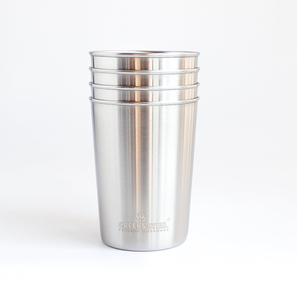 Stainless Steel Tumbler <br>4-pack