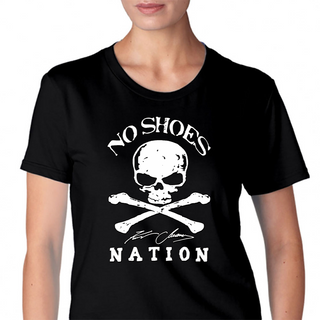 No Shoes Nation Kenny Chesney Womens T-Shirt