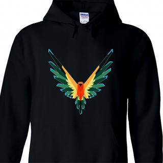 Maverick Bird Color Merch Logan Paul Hoodie