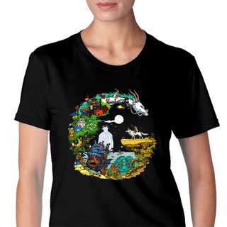 Studio Ghibli Womens T-Shirt