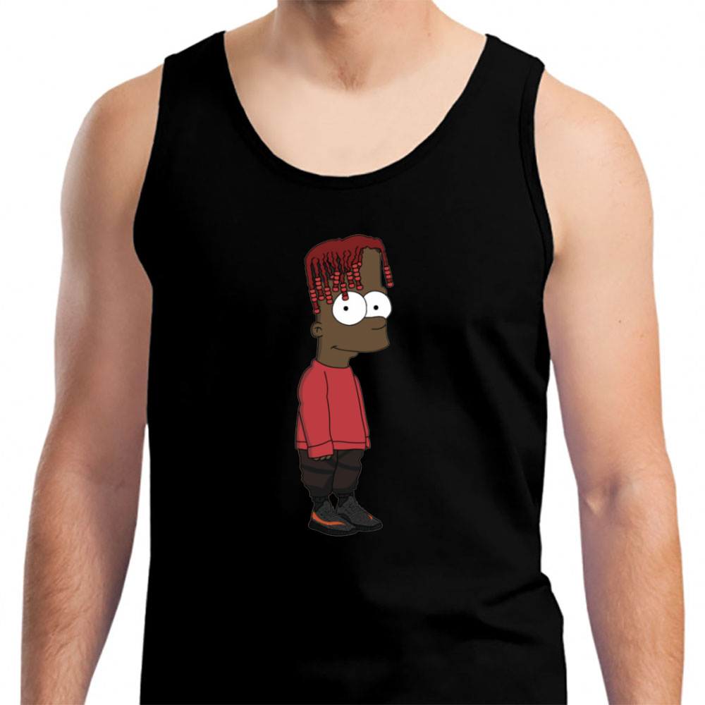 Bart Simpson Lil Yachty - Mens Tank Top