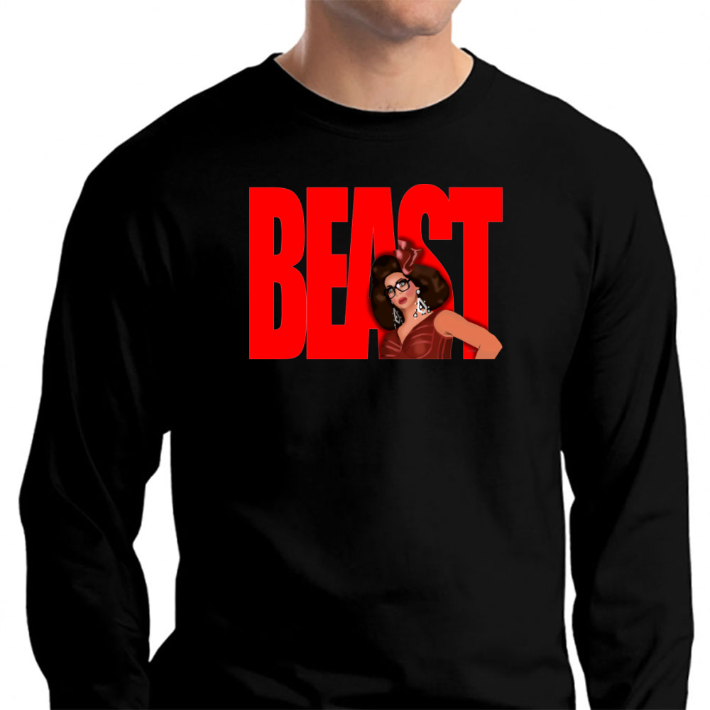 "Alyssa Edwards ""beast"" Long Sleeve T-Shirt"