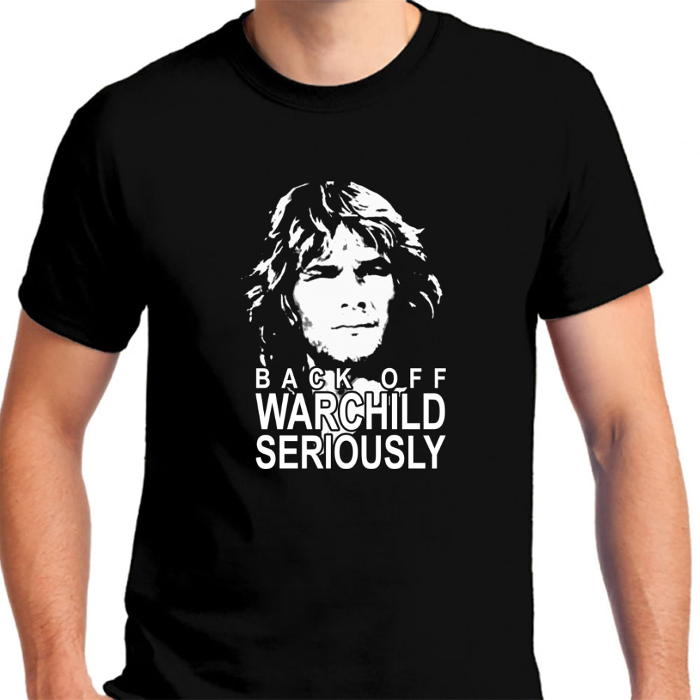 Back Off Warchild Seriously - Mens T-Shirt
